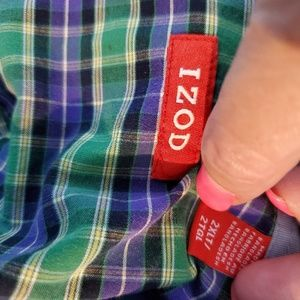 Izod Shirts - Izod Long Sleeve Button Down